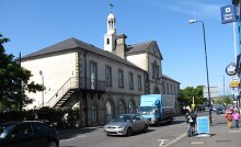 Newtownards, Town Hall in Market Square, Frances Street, County Down © Eric Jones
